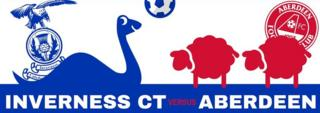 ICTFC promotion of game against Aberdeen