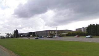 CommScope facility in Lochgelly