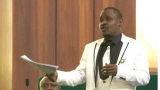 Dan majalisar wakilan Nijeriya Hon Muhammad Gudaji Kazaure