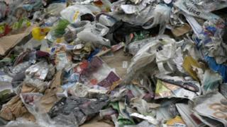 Recyclable waste in Sunderland