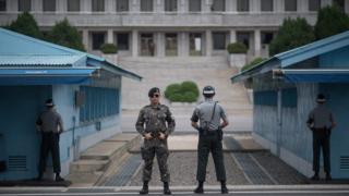 દક્ષિણ કોરિયા અને ઉત્તર કોરિયાની સરહદ