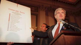 "newt gingrich explains ""contract with America"" 1994"