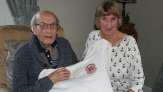 Ivor Broadis and Isobel Moffat