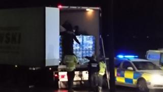 Bicester immigration raid