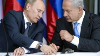 نتانیاهو و پوتین