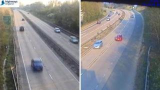 A14 Highways England cameras