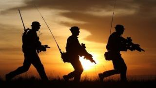 British soldiers in Kenya