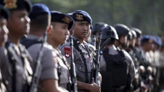 Polisi, Indonesia