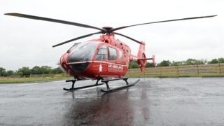 Northern Ireland's new air ambulance