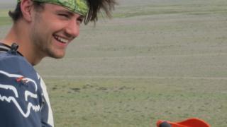 Khobe Clarke in Mongolia