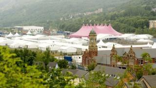 Eisteddfod Maes in Ebbw Vale