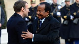 Biya and Macron