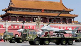 Парад в 2015 году в Пекине
