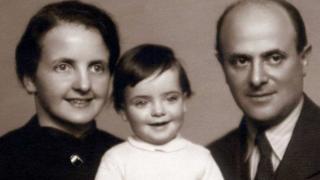 David Friedman com sua primeira família