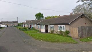 Coleridge Close in Tamworth