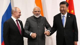 China vs India: qué papel juega Rusia en el conflicto entre ambos países (y con cuál de ellos tiene una relación más cercana) - BBC News Mundo