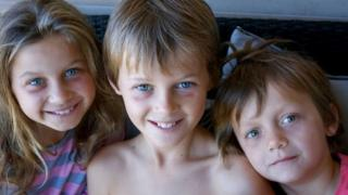 Evie, Mo and Otis Maslin