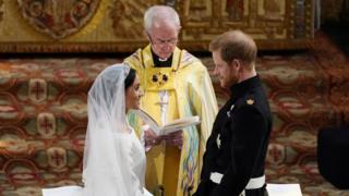 Свадьба принца Гарри и Меган Маркл - сама свадьба