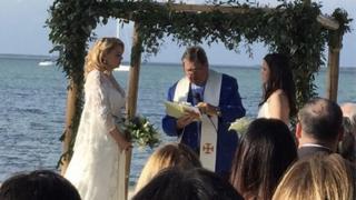 Matrimonio de Jocelyn y Natasha el 3 de febrero. (Foto: gentileza Billy Corben)