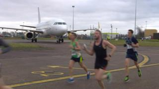 East Midlands Airport run