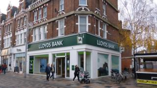 Lloyds Bank in Clapham Junction