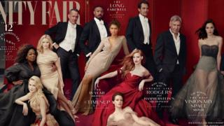 La portada de Vanity (Foto: Annie Leibovitz)