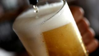 A file picture of a pint of beer