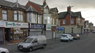 A Google Streetview of Lytham Road in Blackpool