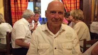 El alcalde de Barcelonnette, Pierre Martin-Charpenel