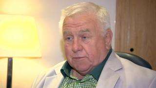 Fergus Wilson said the fault lies with the local council