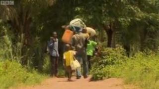 """Родина Марі іде """"Голодним шляхом"""" у ДРК"""