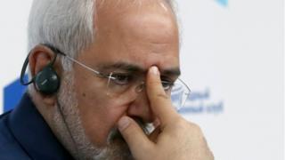 وزیر خارجه ایران گفته است 'اروپا برای حفظ آمريكا در برجام، دچار افراط شده'