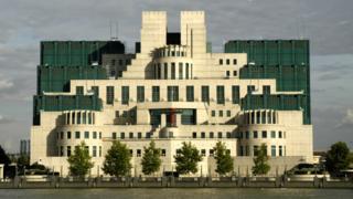 MI6 headquarters in Vauxhall, London