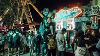 Фестиваль по случаю Хэллоуина