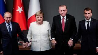 نشست سران آلمان، فرانسه، روسیه و ترکیه در مورد سرنوشت سوریه