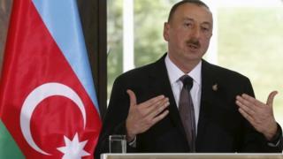 Azerbaijan's President Ilham Aliyev. File photo