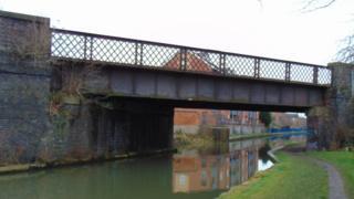 Great Central Railway bridge Loughborough