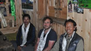 Gavin Anderson in Nepal