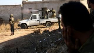 گفته شده که تصرف دابق، بخشی از عملیات گسترده گروههای شورشی مخالف دولت سوریه است