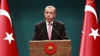 Түркиянын президент Режеп Тайып Эрдоган