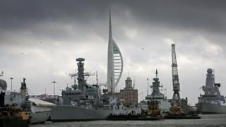 Portsmouth naval base