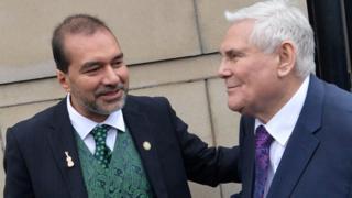 Imam Muhammad Al Hussaini and Pastor James McConnell