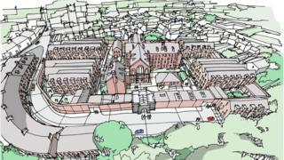Dorchester Prison plans