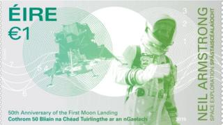 Moon Landing Commemorative Stamp