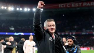 Ole Gunnar Solskjaer yafashije Manchester United kugera mu mikino ya kimwe cya kane cya Champions League muri uyu mwaka w'imikino