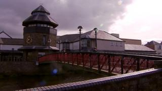 Haverfordwest footbridge