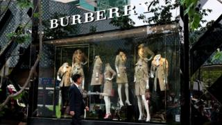 Burberry store