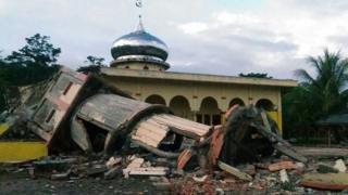 Последствия землетрясения на Суматре