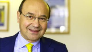 A picture of Toni & Guy co-founder Giuseppe Toni Mascolo