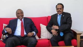Uhuru iyo Farmaajo ayaa ku kulmay Nairobi